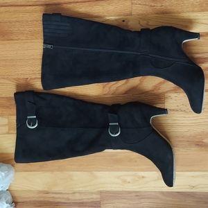 Bella Vita Toni II Faux Suede Knee High Boots Sz 9